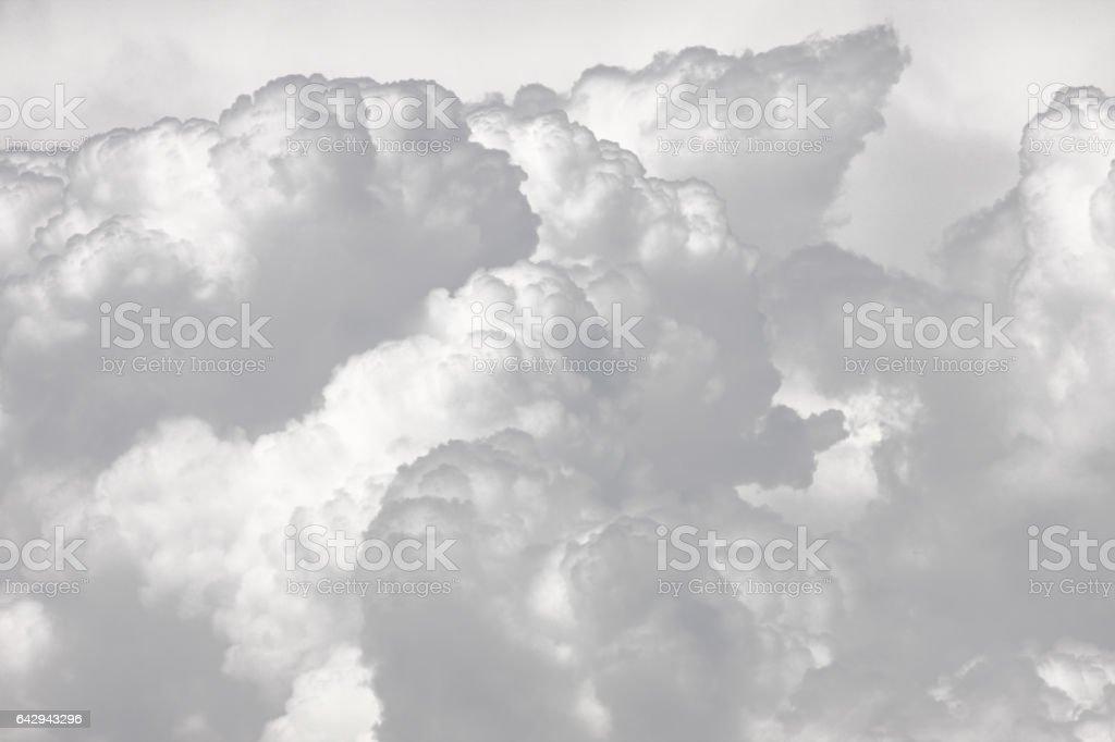 Cumulonimbus Cumulus Nimbostratus Stratocumulus Storm Clouds stock photo
