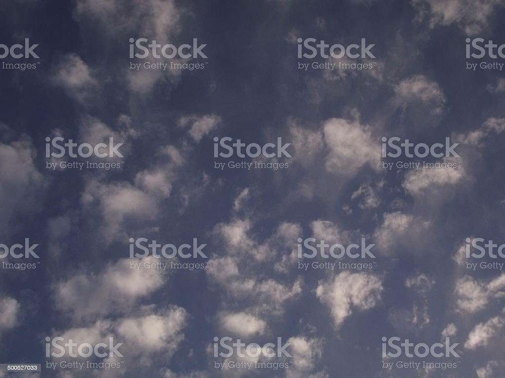Cumulous Cloud royalty-free stock photo
