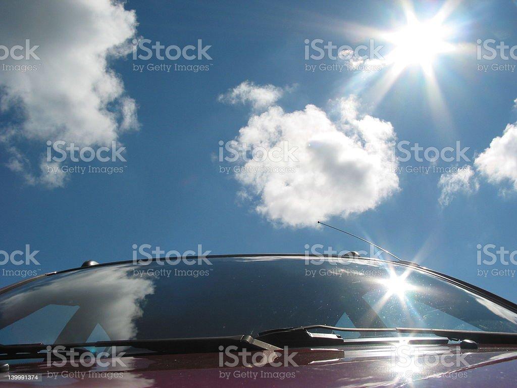 Cumulous Clouds 4 stock photo