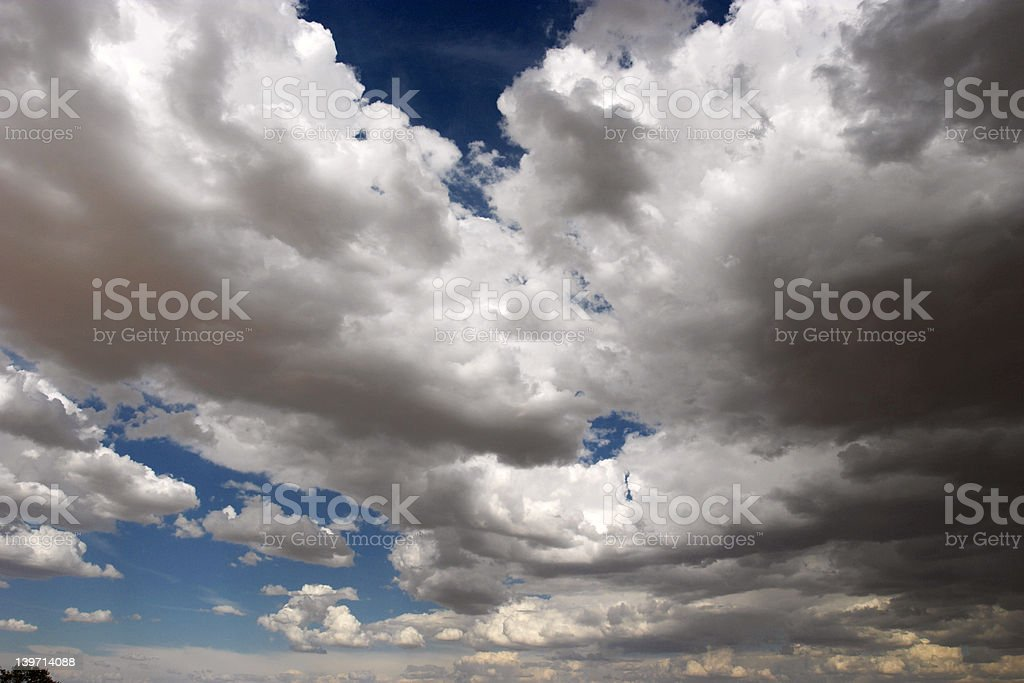 Cumulous Clouds royalty-free stock photo