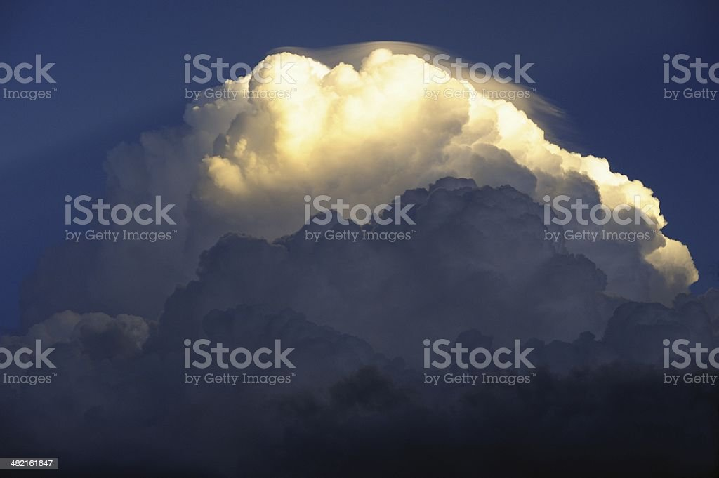 Cumulus Cloud Formation stock photo