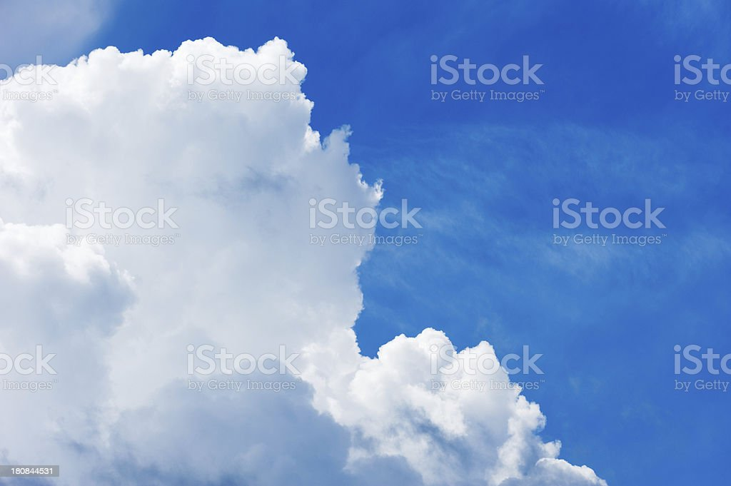 Cumulus cloud royalty-free stock photo