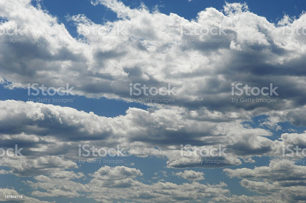 Cumulus Cloudscape royalty-free stock photo
