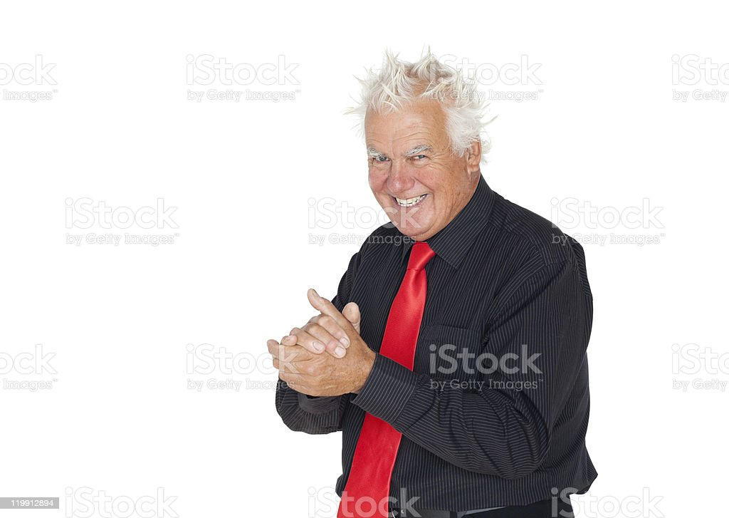 Cunning Manager royalty-free stock photo