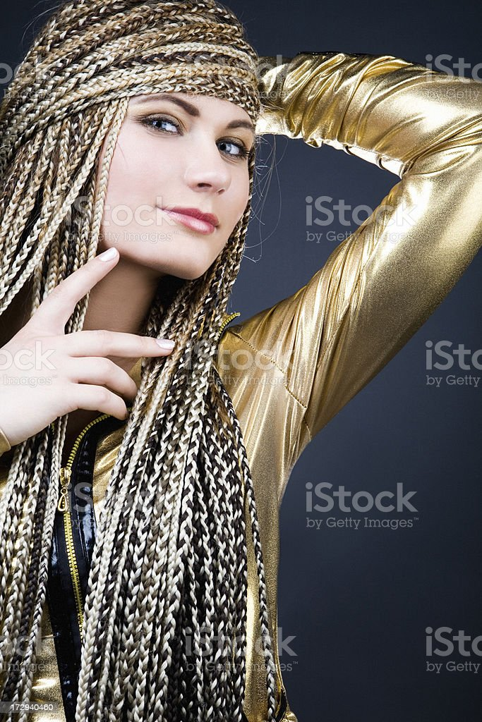 cunning woman royalty-free stock photo