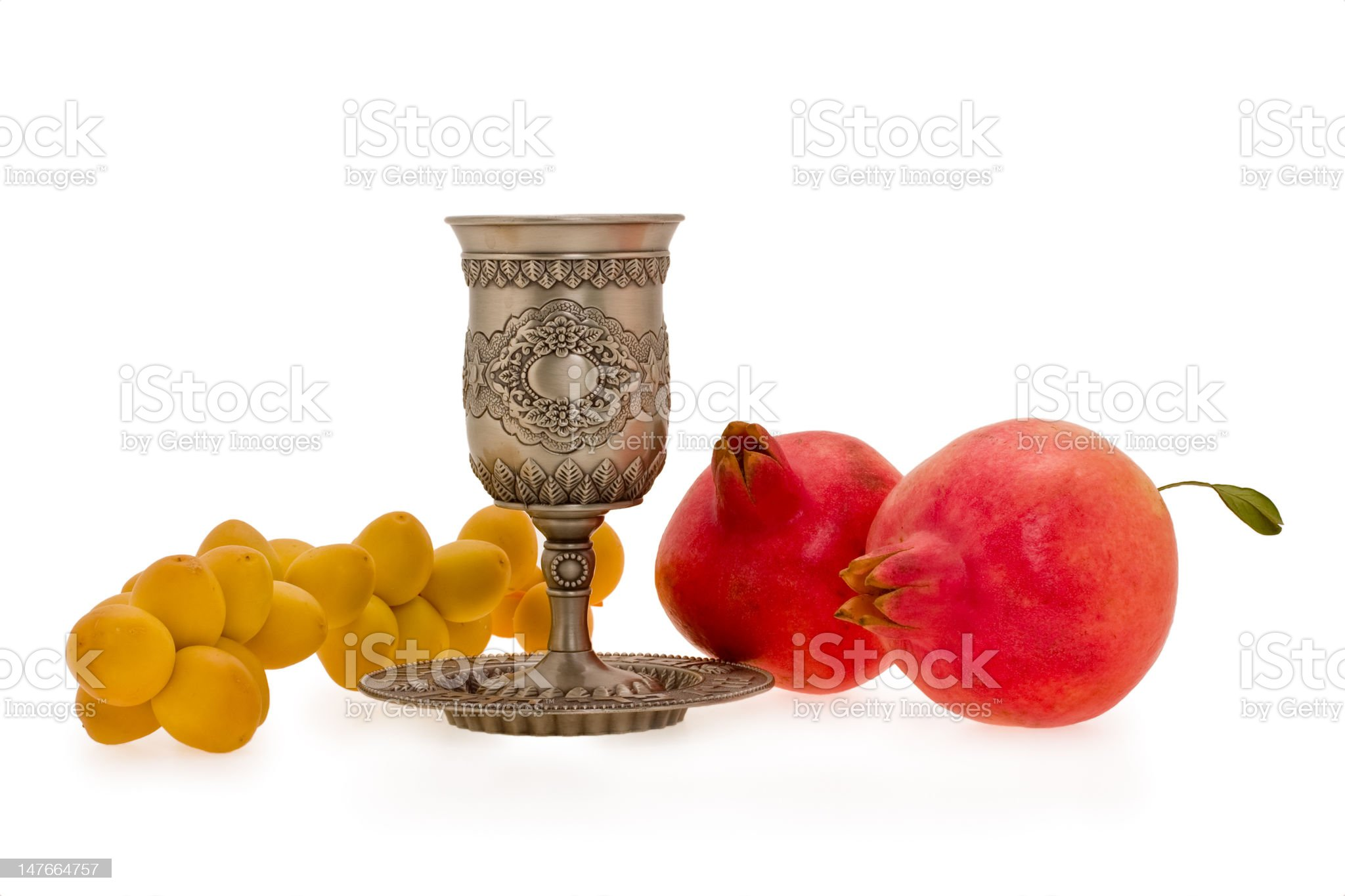 cup and fruits royalty-free stock photo