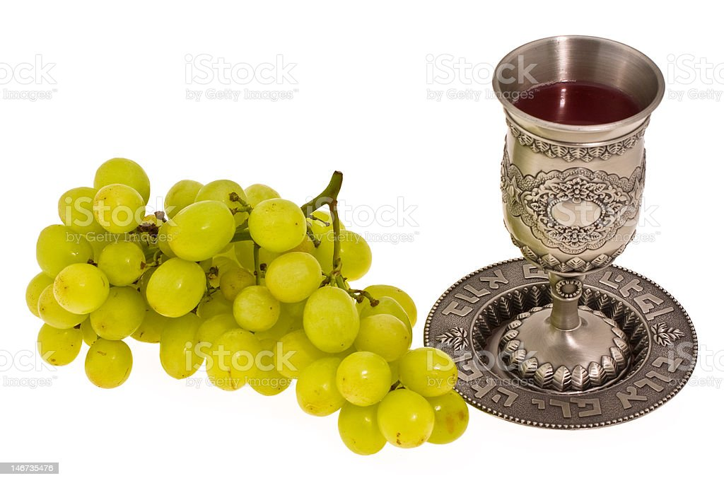 cup and grape royalty-free stock photo