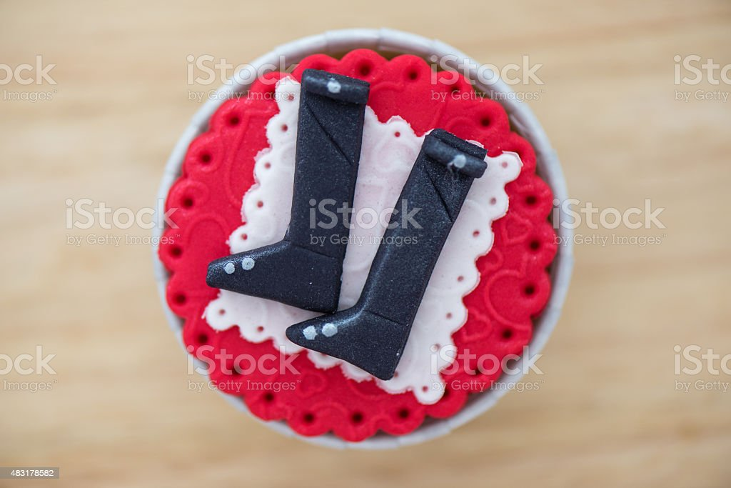 SWAT Cup Cake stock photo