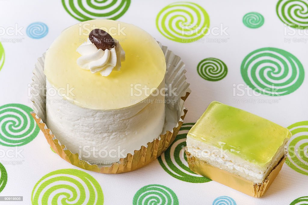Cup cakes royalty-free stock photo