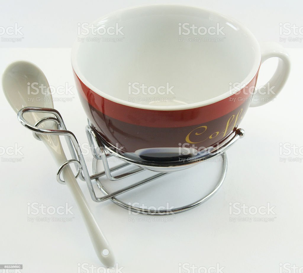 Cup for coffee royalty-free stock photo
