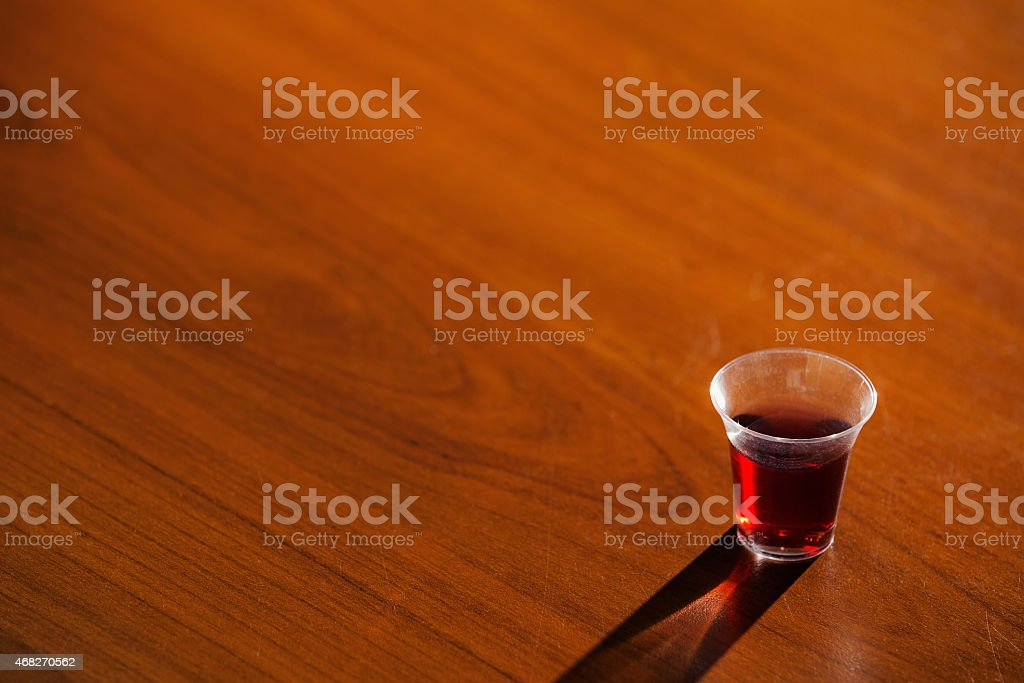 Cup From Holy Communion stock photo