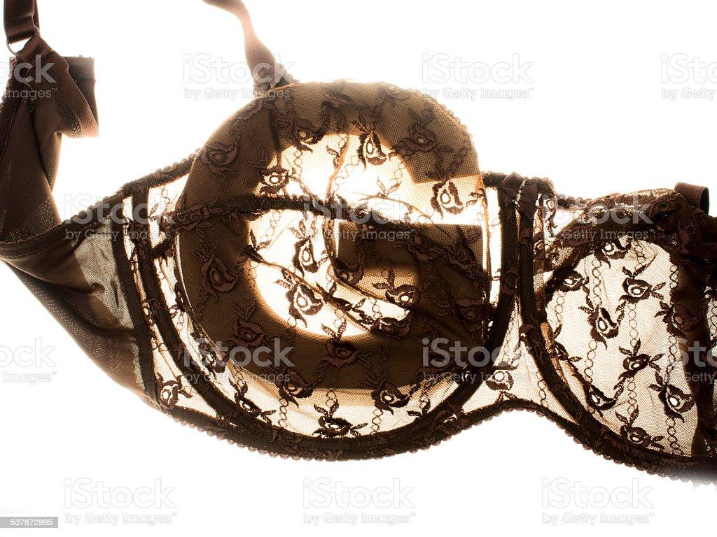 cup G bra silhouette stock photo