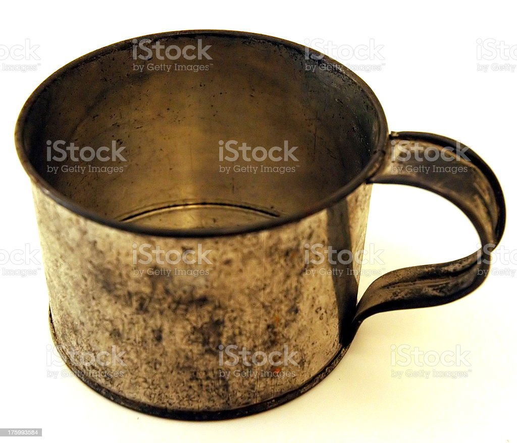 Tin Cup royalty-free stock photo