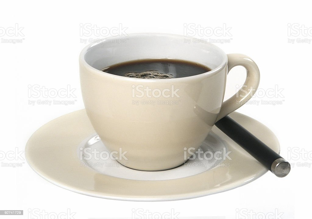 Cup O' Joe royalty-free stock photo