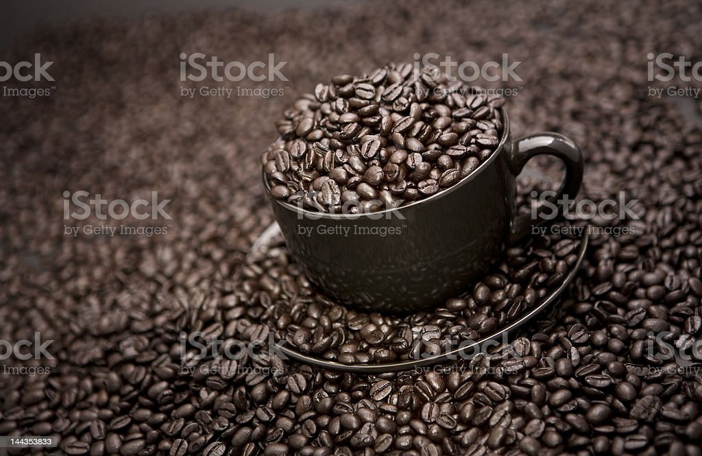 Cup of blackn' black royalty-free stock photo