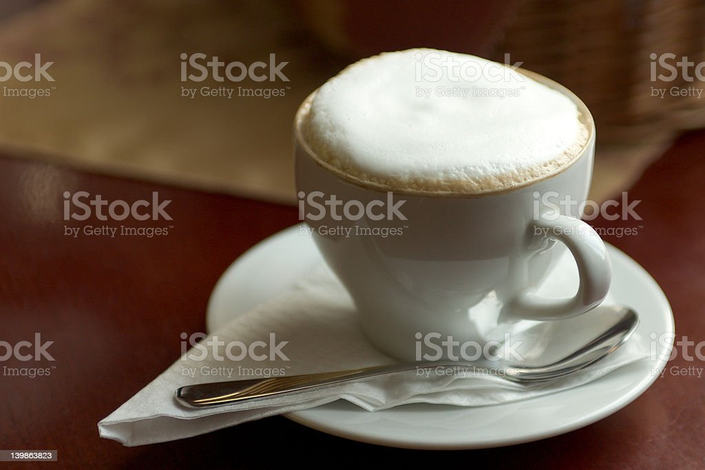 Cup of Cappucino royalty-free stock photo