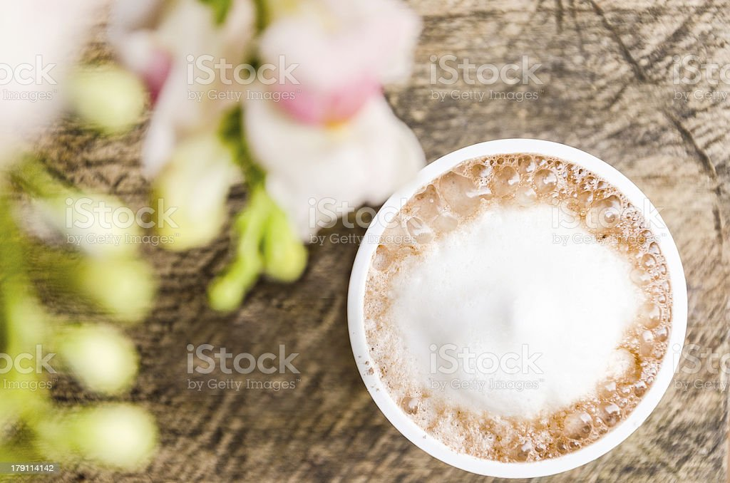 cup of cocao royalty-free stock photo