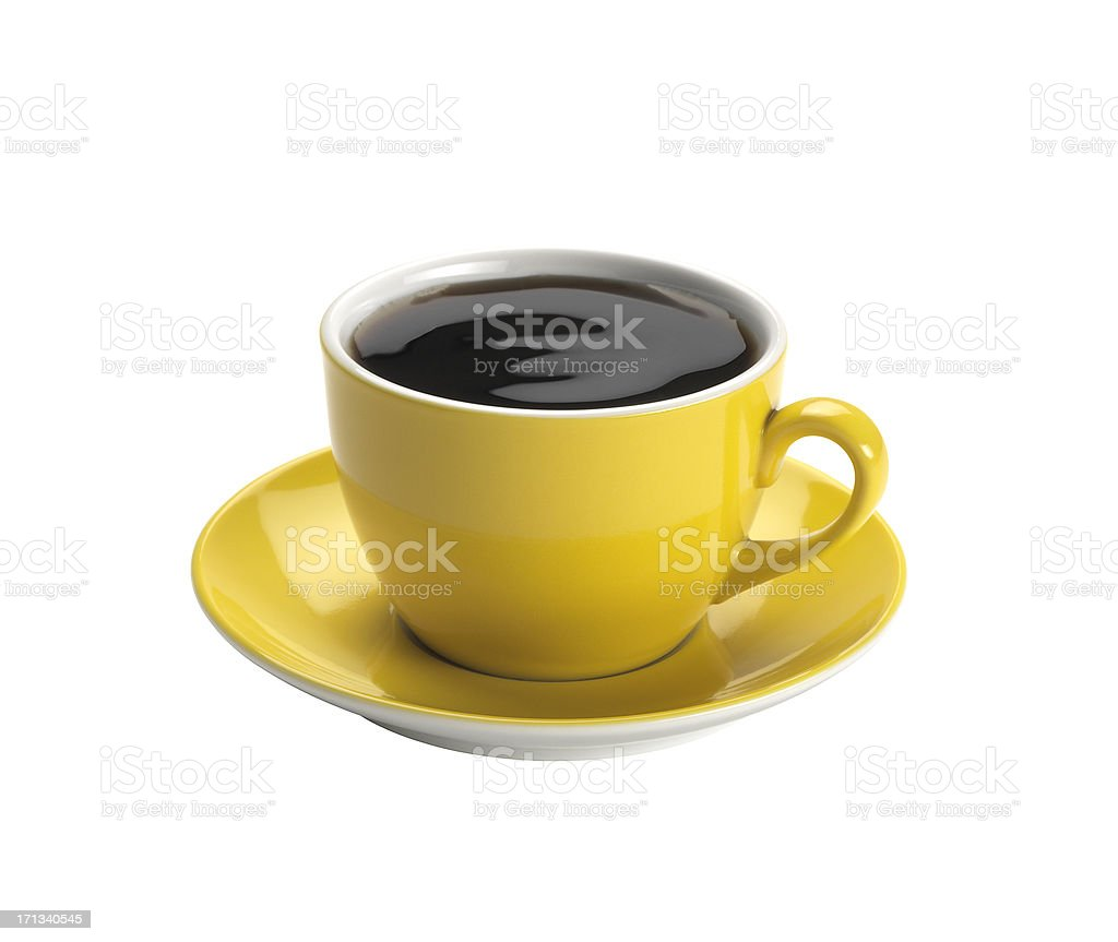 Cup Of Coffee +Clipping Path royalty-free stock photo
