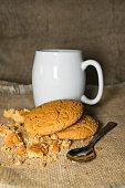 cup of coffee cookies