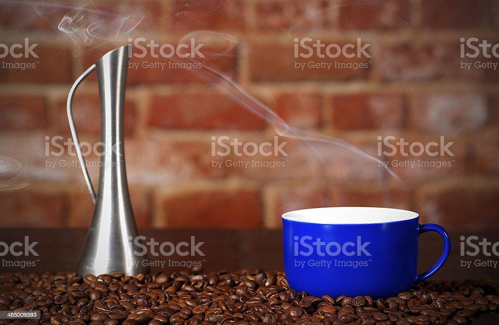 Taza de café foto de stock libre de derechos