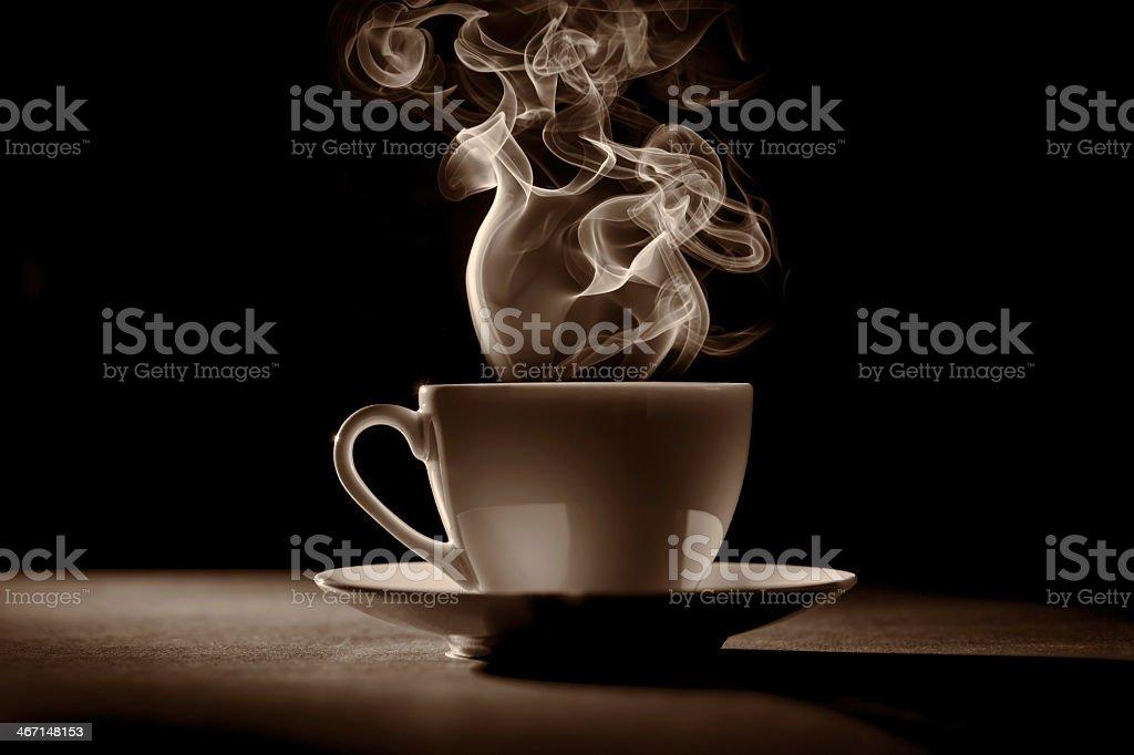cup of coffee (tea) stock photo