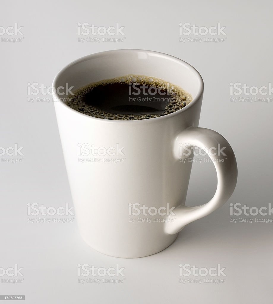 Cup of Coffee w/Clipping Path royalty-free stock photo
