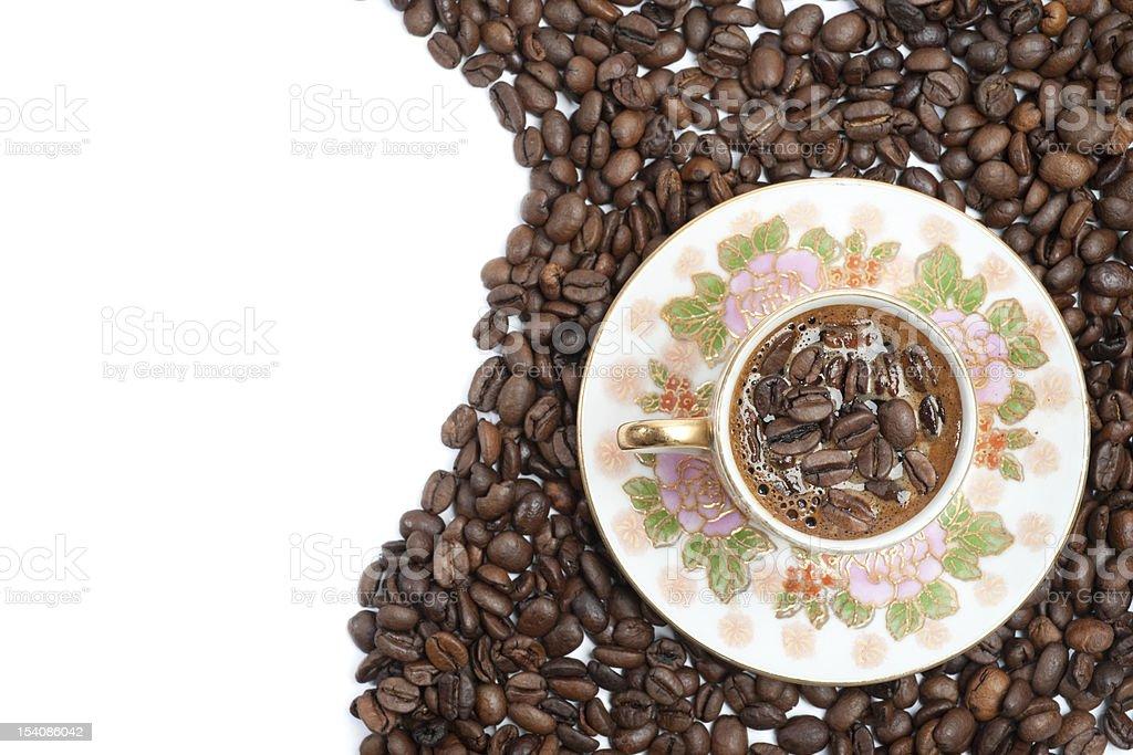 커피 콩 royalty-free 스톡 사진