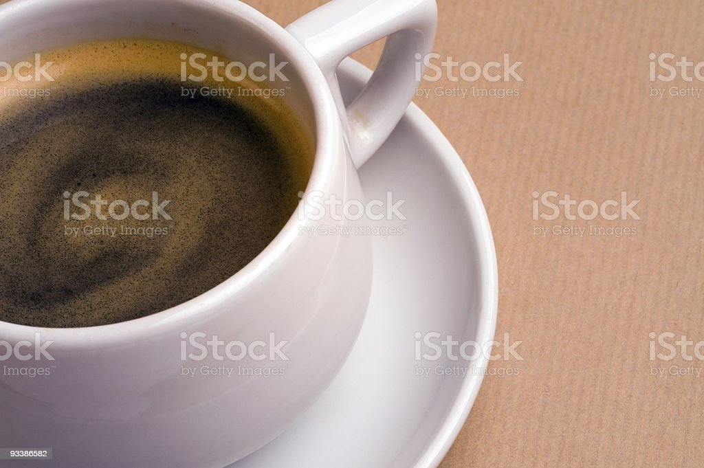 Cup of comfort royalty-free stock photo
