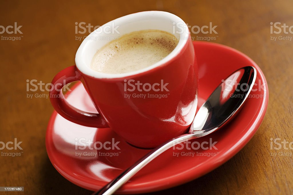 Cup of Espresso Coffee royalty-free stock photo