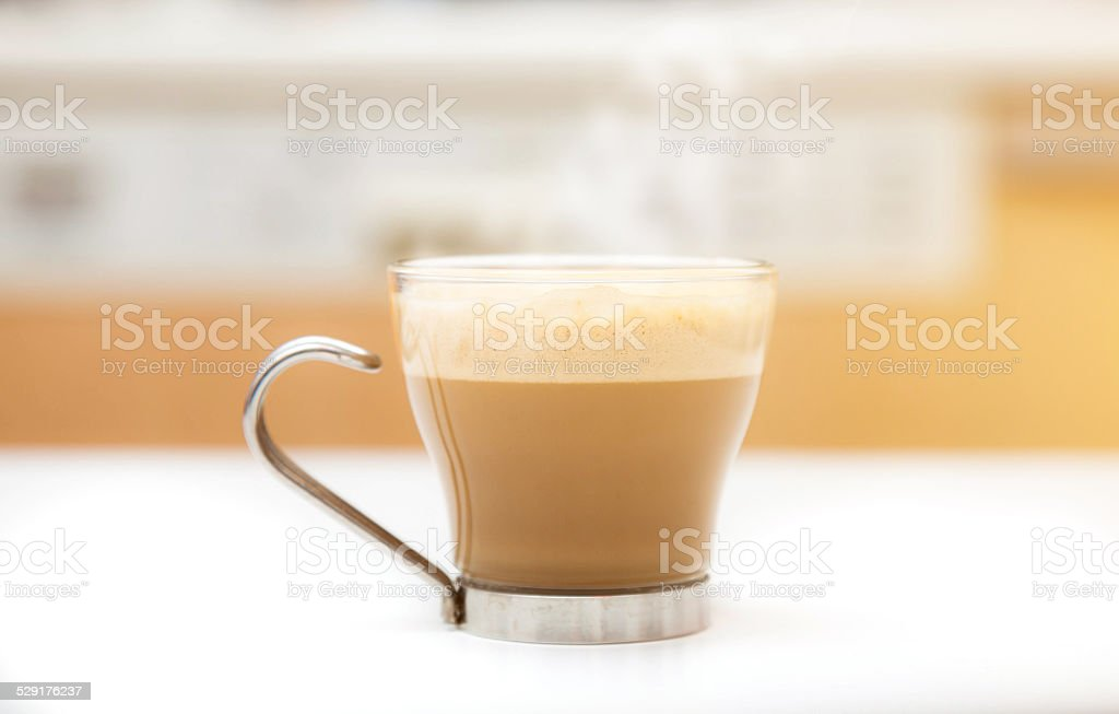 Cup of Ginseng stock photo