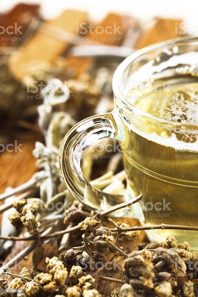 cup of herbal tea royalty-free stock photo