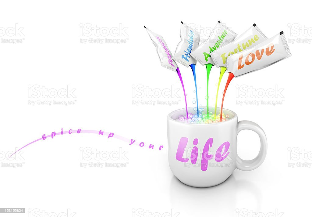 cup of life royalty-free stock photo