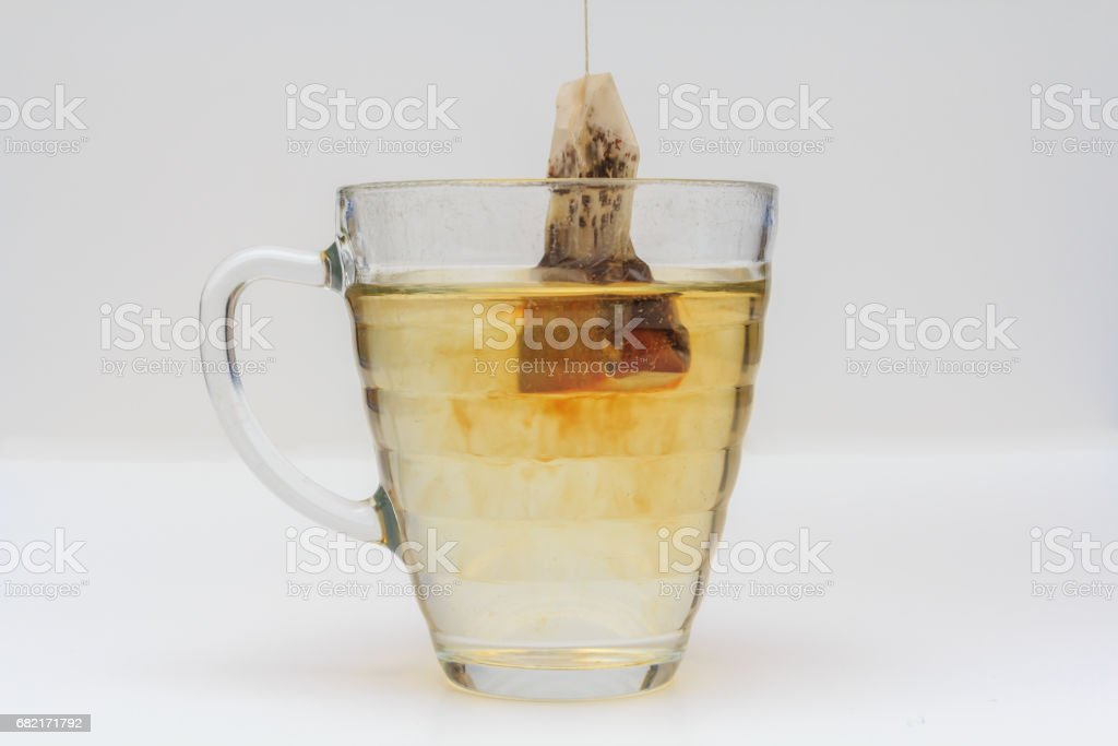 cup of soothing tea in the afternoon stock photo