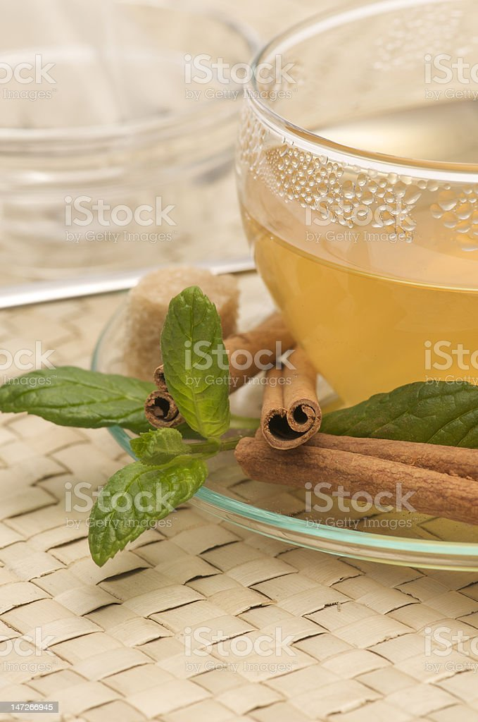 cup of tea close-up royalty-free stock photo