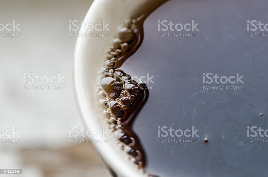 Cup of tea close-up stock photo