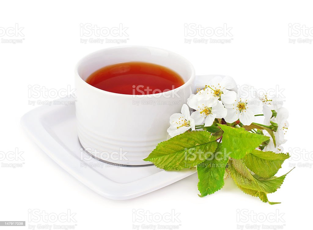 cup of  tea. royalty-free stock photo