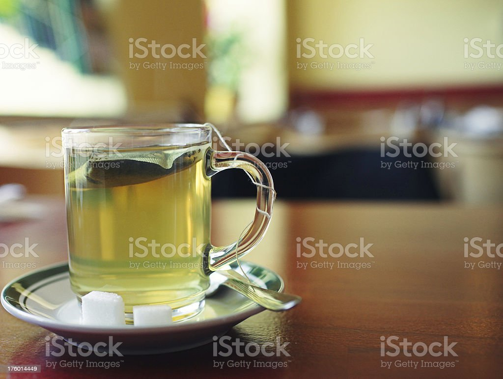 Cup of tea royalty-free stock photo
