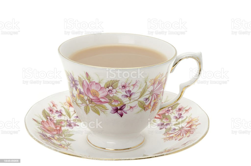 Cup of tea. stock photo