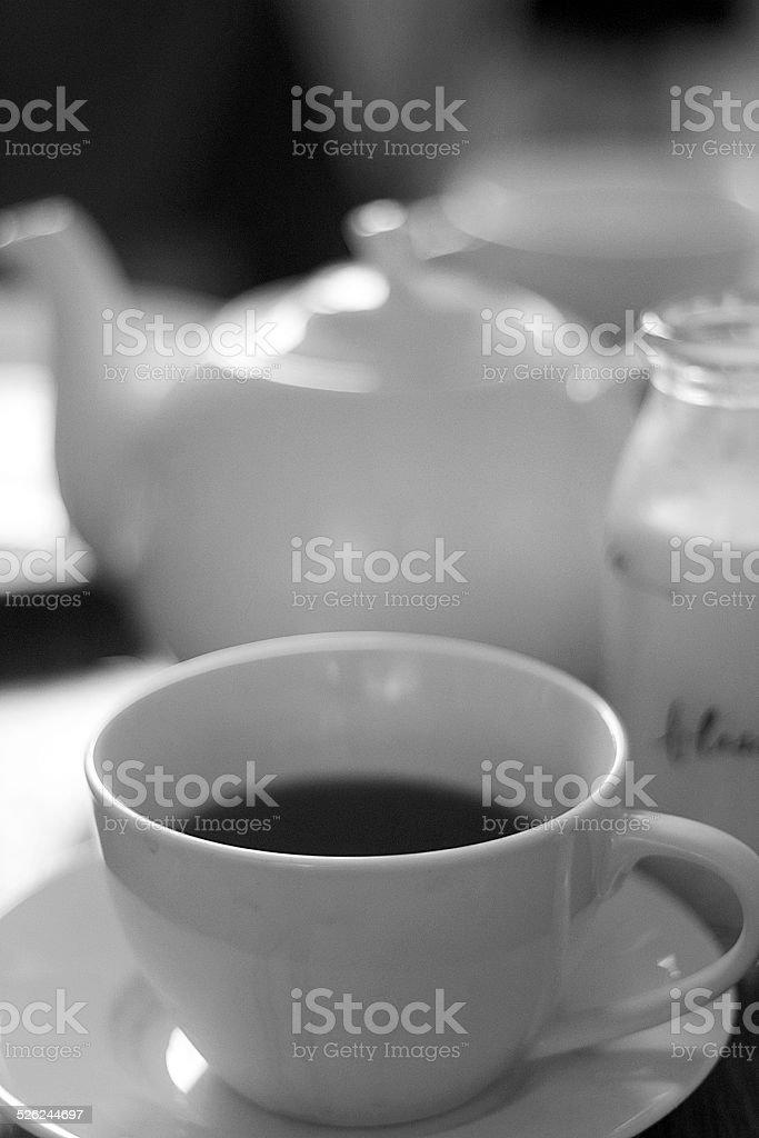 Tazza di tè foto stock royalty-free