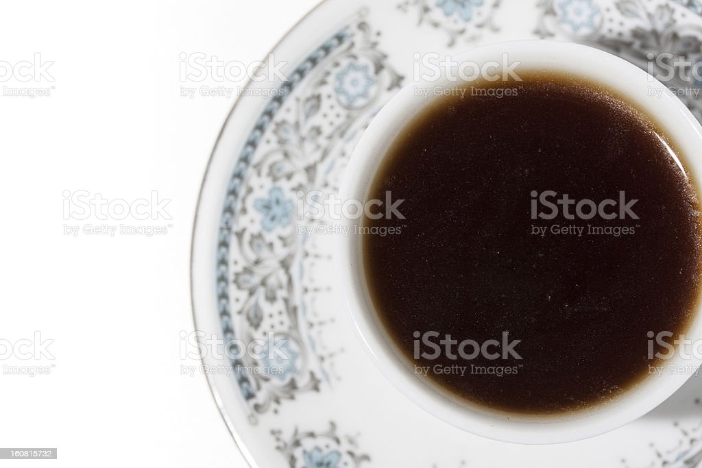 cup of turkish coffee royalty-free stock photo