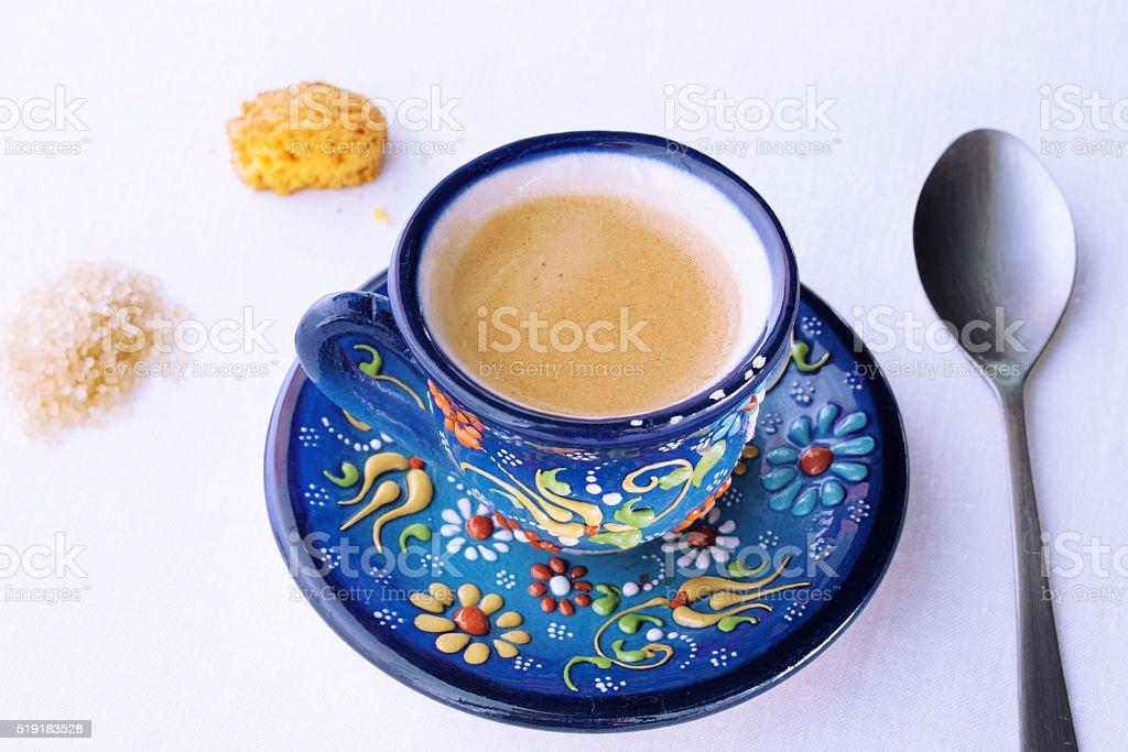Cup of Turkish Coffee stock photo