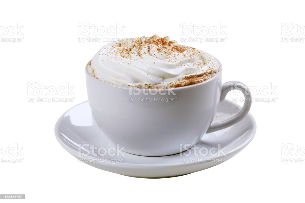Cup of Vienna coffee stock photo