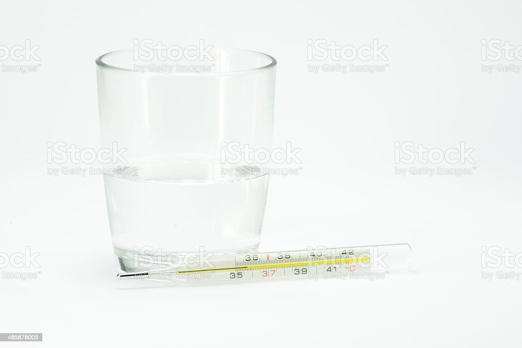 cup of water royalty-free stock photo
