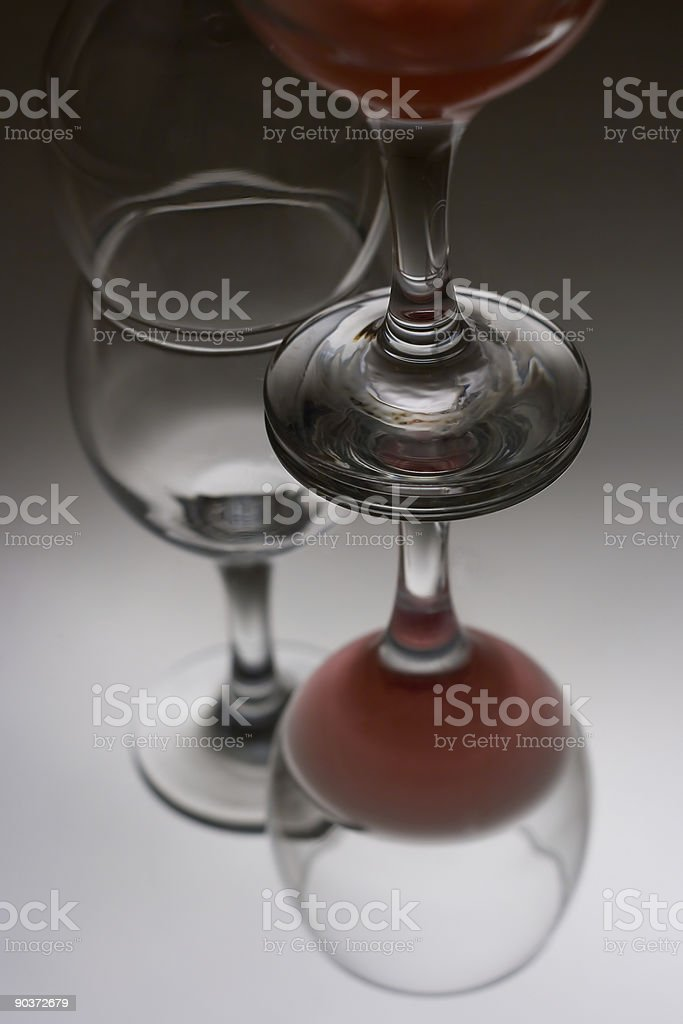 Cup of Wine stock photo