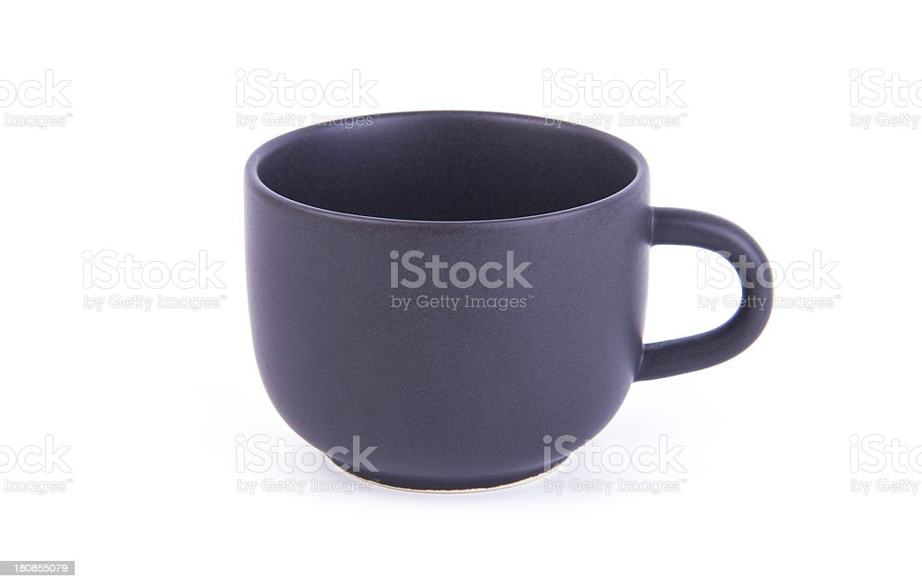 cup on white background royalty-free stock photo