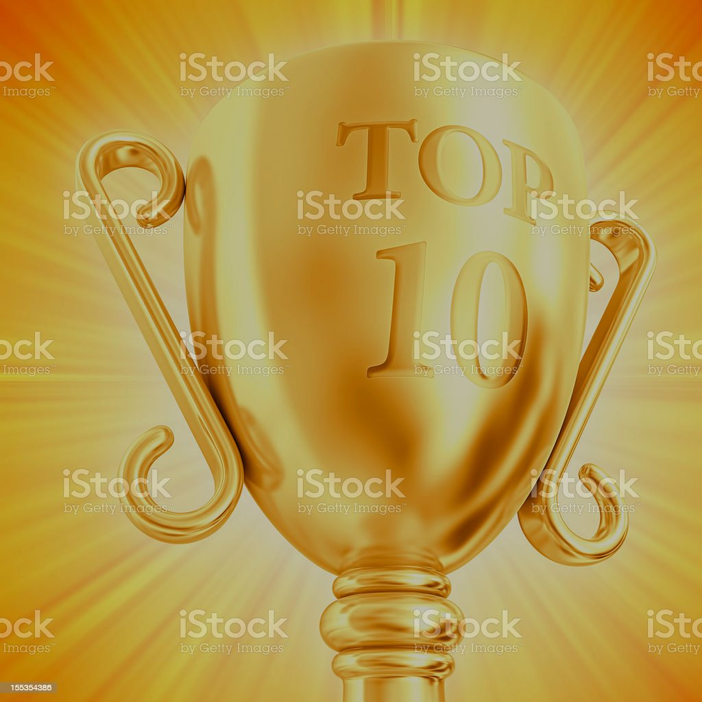 TOP 10 cup royalty-free stock vector art