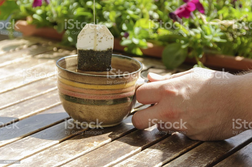 Cup tea royalty-free stock photo