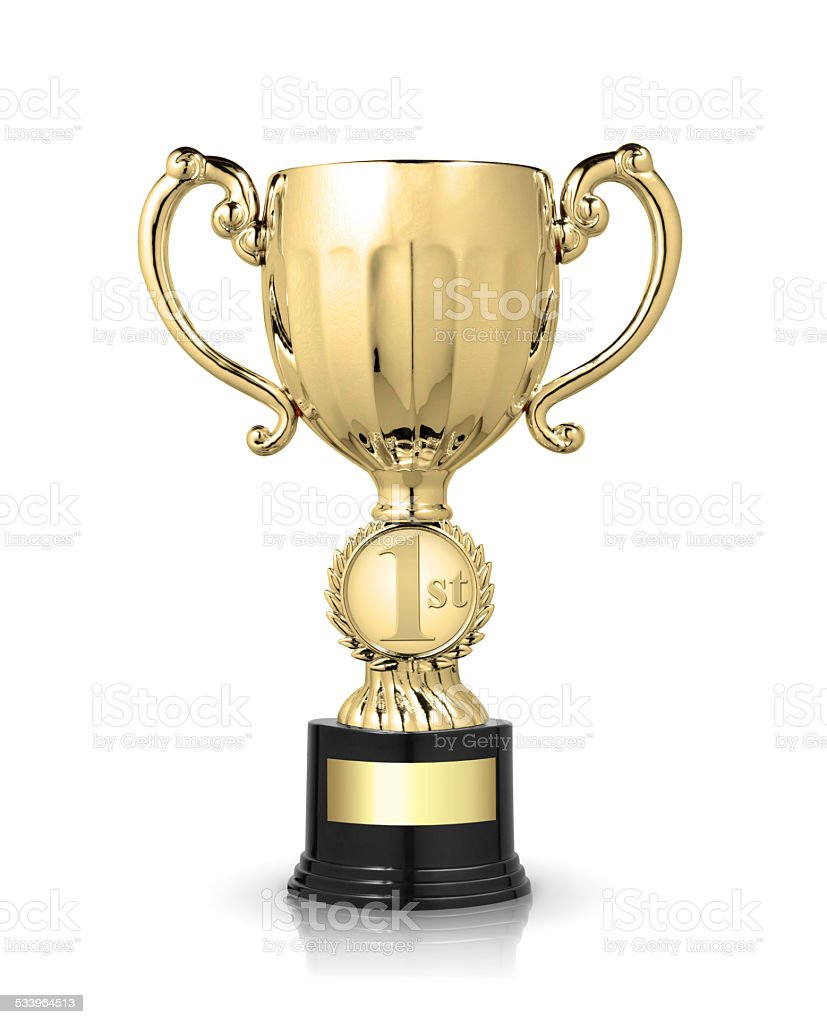 cup trophy stock photo