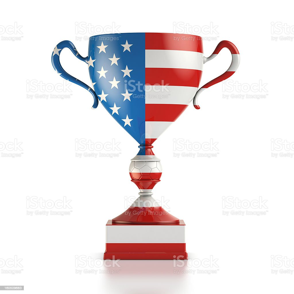 Cup USA royalty-free stock photo