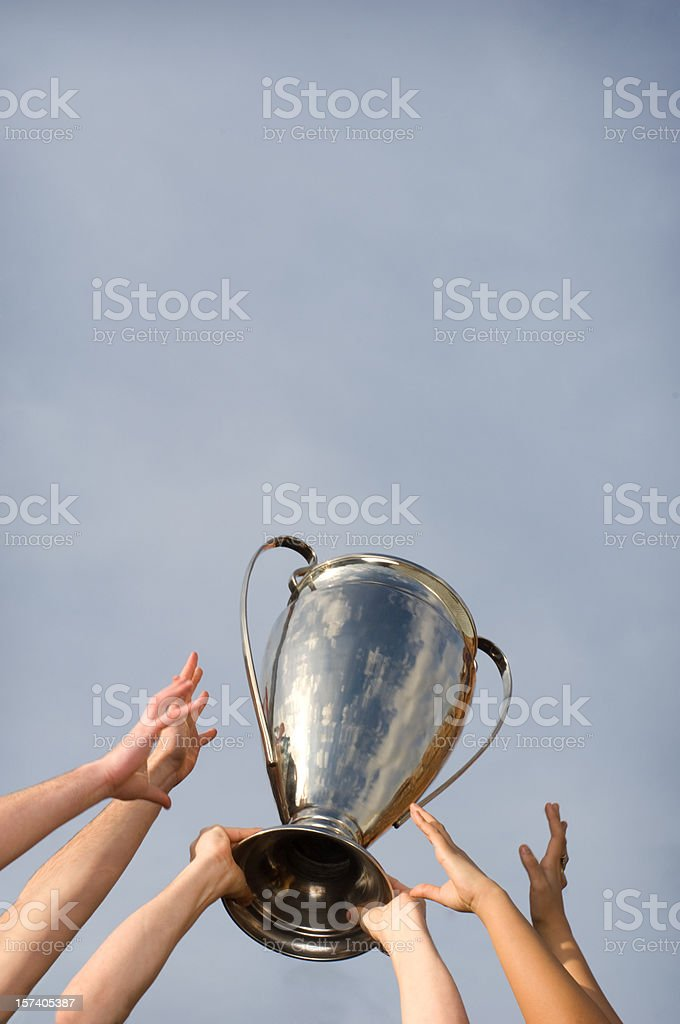 cup winners royalty-free stock photo